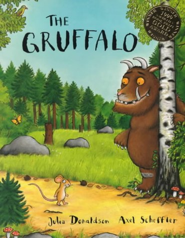 The Gruffalo from Amazon / The Gruffalo 来自亚马逊儿童图书
