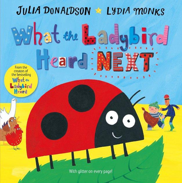 What the ladybird heard NEXT - From Amazon / 《瓢虫又听到什么了?》来自亚马逊儿童图书